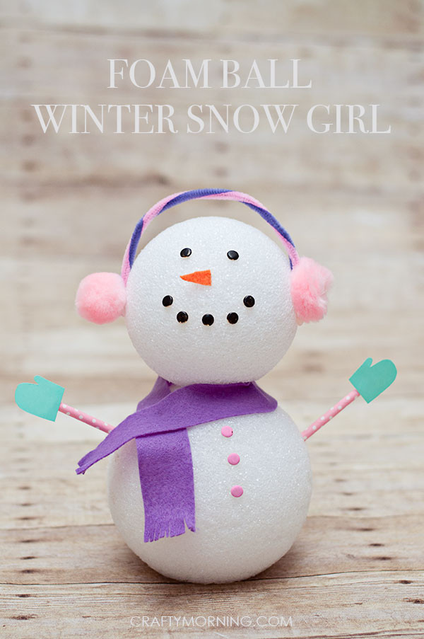 Easy Winter Crafts For Preschoolers  15 Easy Winter Snowman Crafts For Kids SoCal Field Trips