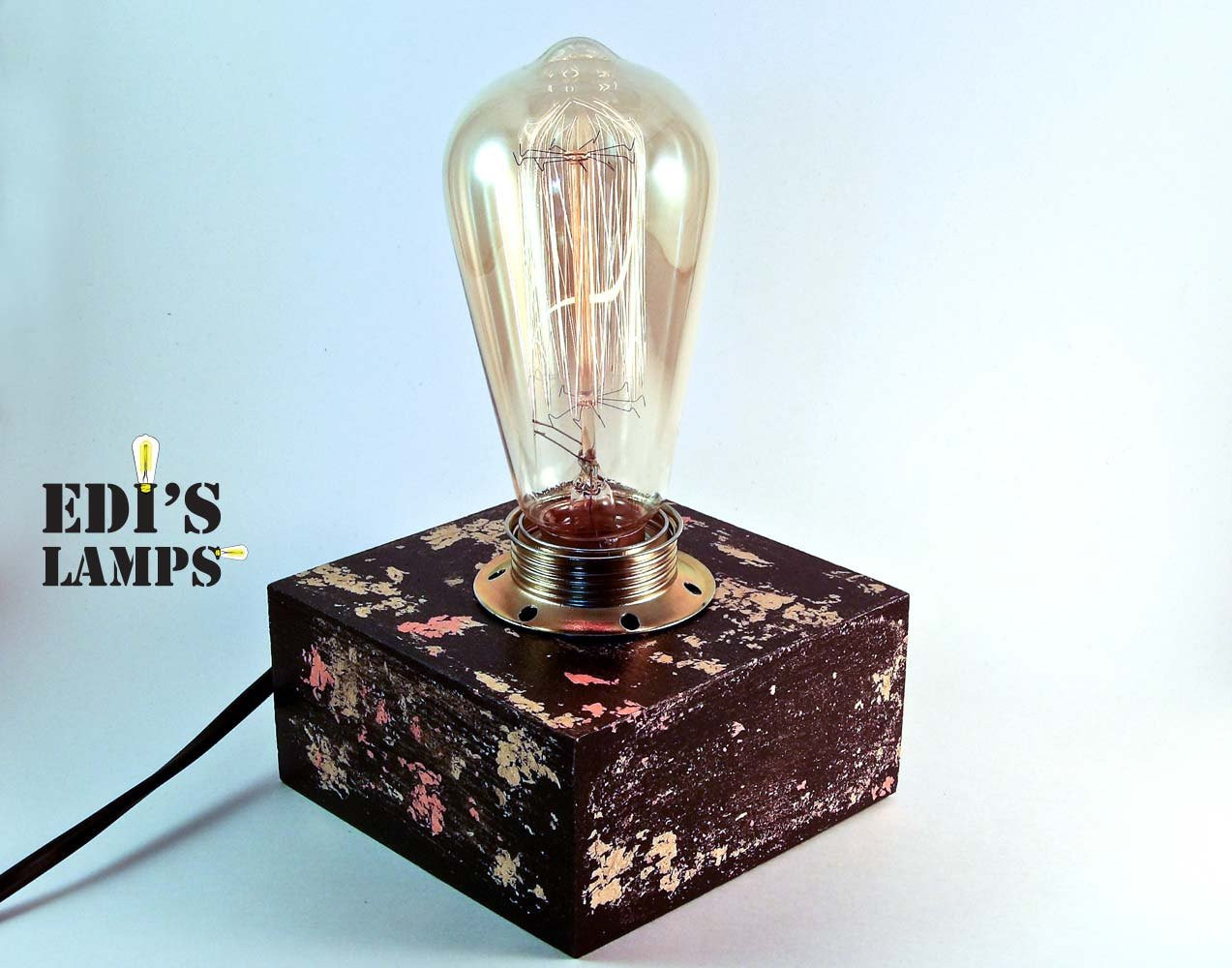 Best ideas about Edison Desk Lamp . Save or Pin Modern Lamp Edison Lamp Edison Table Lamp Table Lamp by Now.