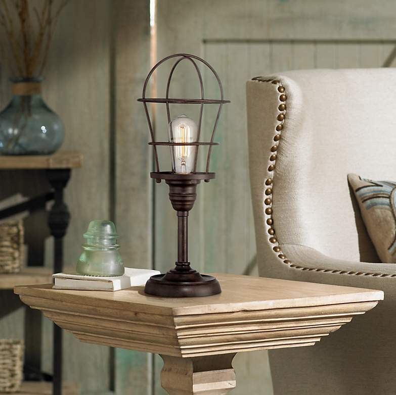 Best ideas about Edison Desk Lamp . Save or Pin Accent Lamp Table Lamp Industrial Style Lamp Desk Now.