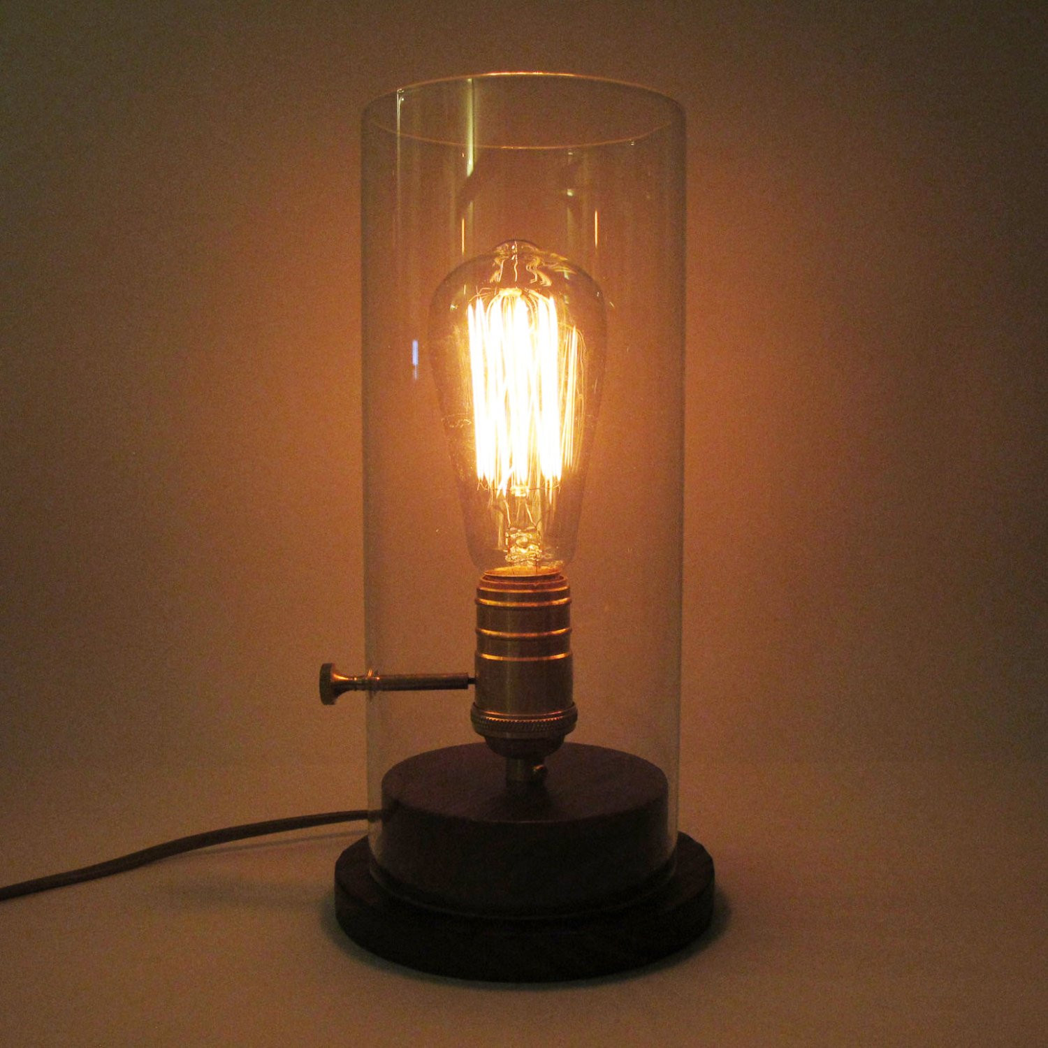 Best ideas about Edison Desk Lamp . Save or Pin Edison Glass Desk Wood Lamp edison bulb desk lamp Now.