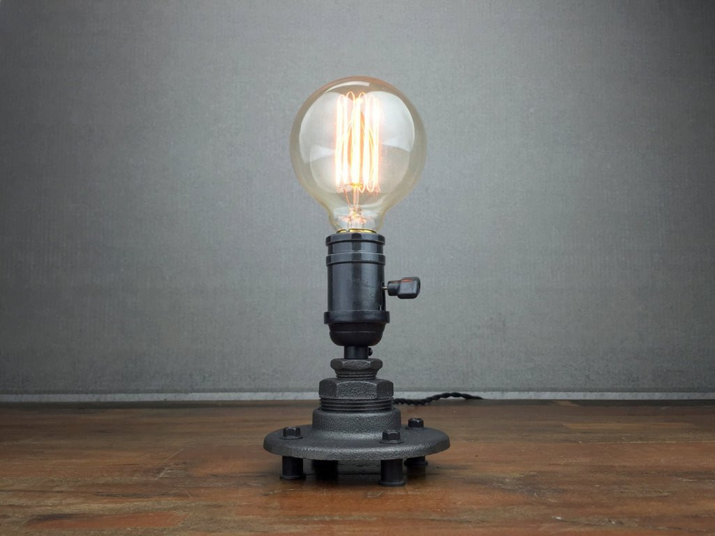 Best ideas about Edison Desk Lamp . Save or Pin Minimalist Desk Lamp Industrial Table Lamp Edison Bulb Now.