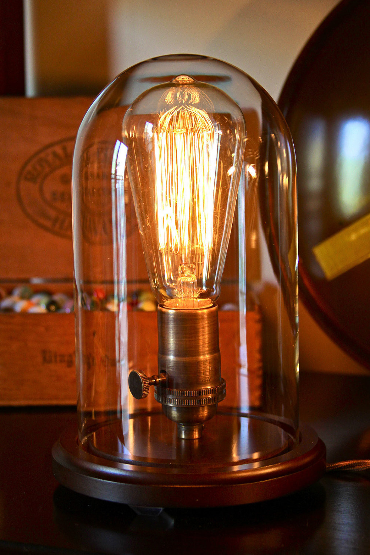 Best ideas about Edison Desk Lamp . Save or Pin Edison Bell Jar Lamp Dan Cordero Now.