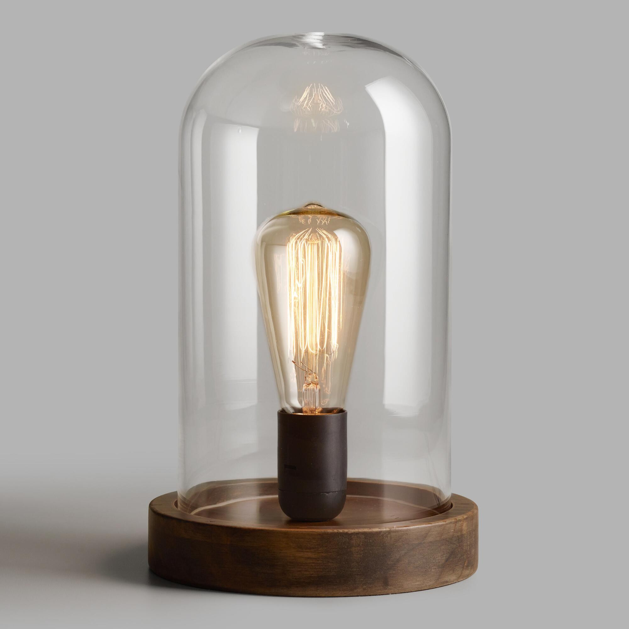 Best ideas about Edison Desk Lamp . Save or Pin Edison Glass Cloche Table Lamp Now.