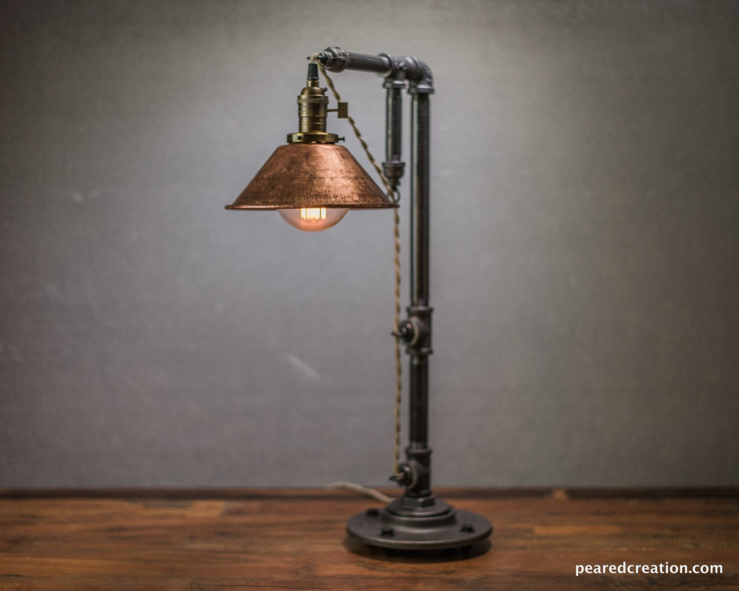 Best ideas about Edison Desk Lamp . Save or Pin Industrial Table Lamp Edison Bulb Lamp Table Lamp Now.