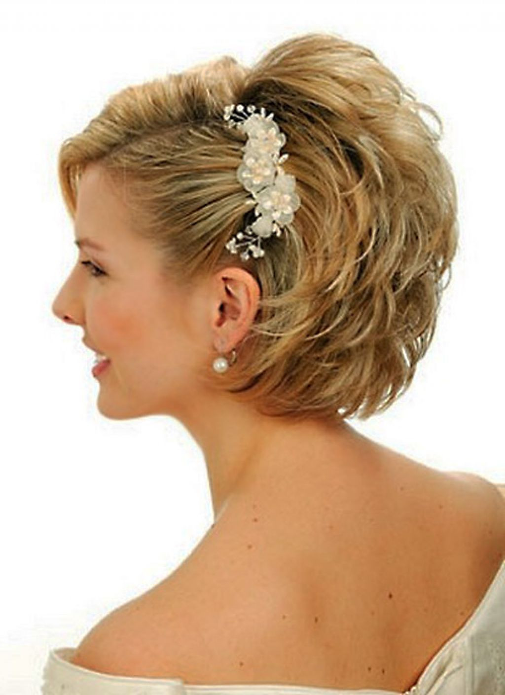 Elegant Hairstyles For Short Hair  25 Most Favorite Wedding Hairstyles for Short Hair The