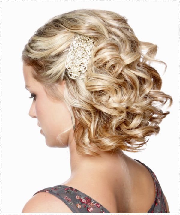 Elegant Hairstyles For Short Hair  30 Amazing Prom Hairstyles & Ideas