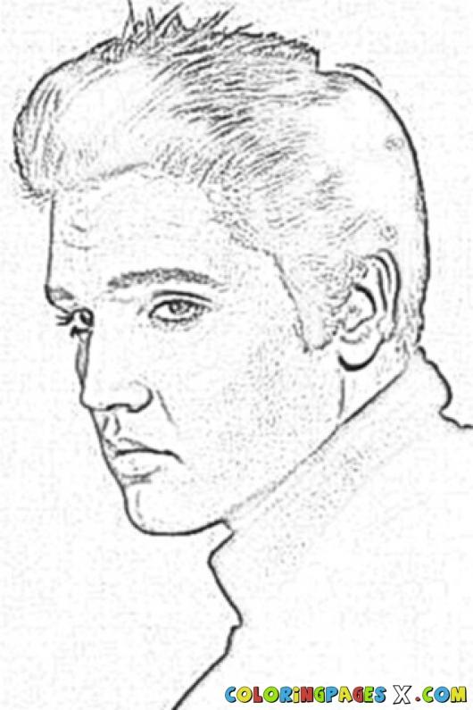 Elvis Presley Coloring Pages  9 Best of Elvis Presley Printable Games Elvis