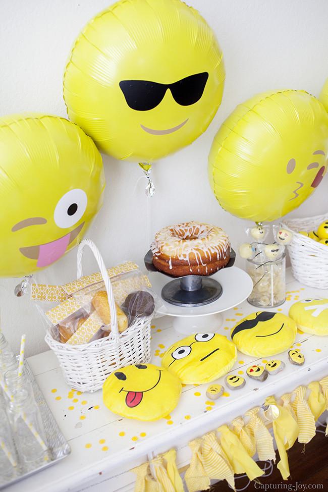 Emoji Birthday Decorations  Emoji Birthday Party Capturing Joy with Kristen Duke
