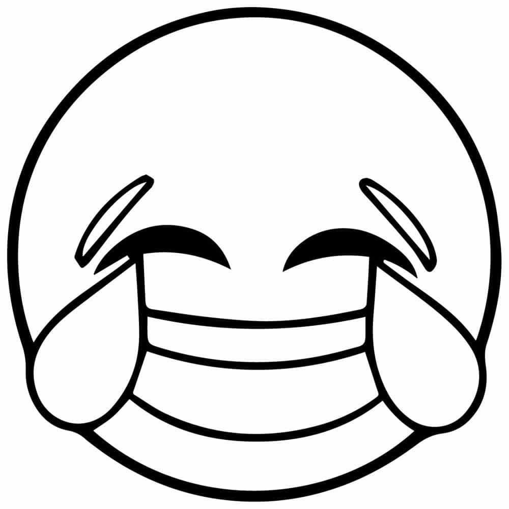 Emoji Printable Coloring Sheets  Dibujos de EMOJIS para COLOREAR