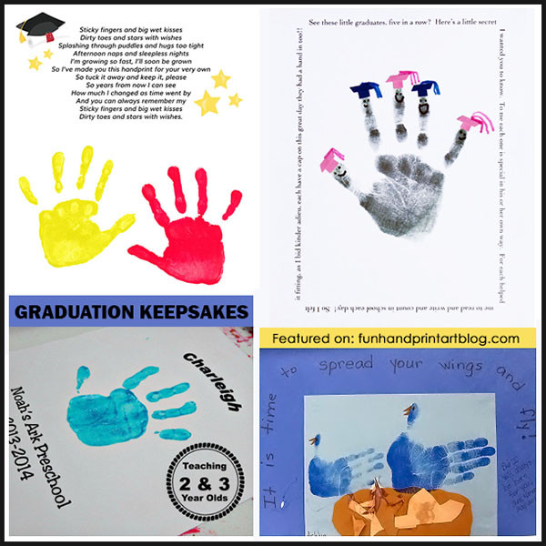 End Of The Year Crafts For Preschoolers  Handprint Graduation & End of the School Year Ideas Fun