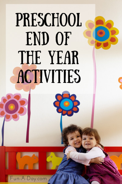 End Of The Year Crafts For Preschoolers  End of the School Year Activities for Preschool
