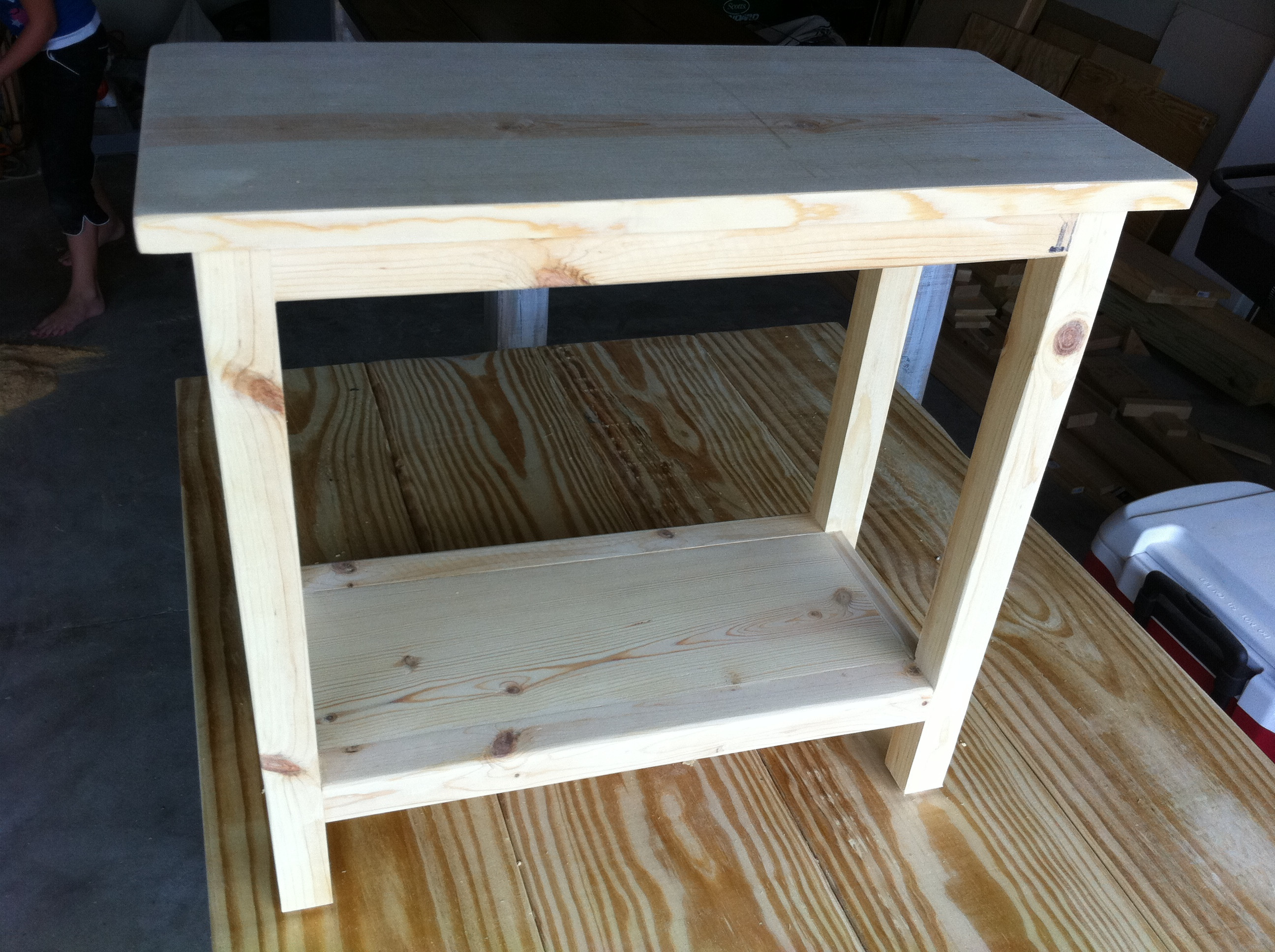 Best ideas about End Table Plans DIY . Save or Pin Ana White Now.