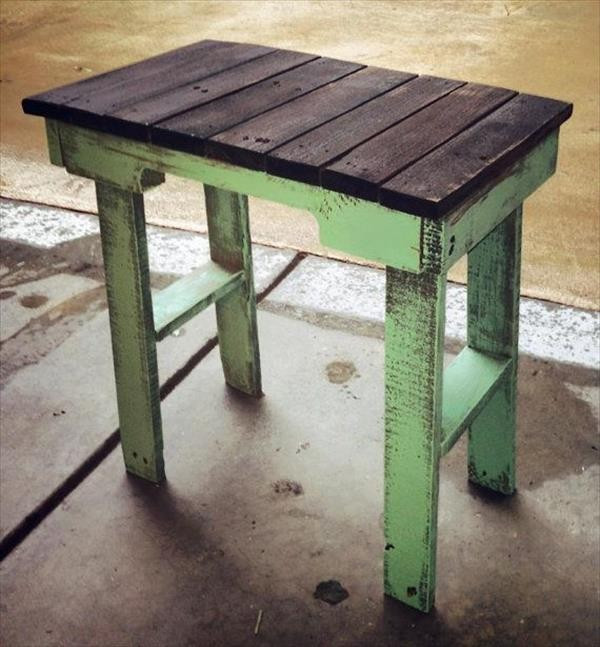 Best ideas about End Table Plans DIY . Save or Pin DIY Pallet End Table Plans Now.