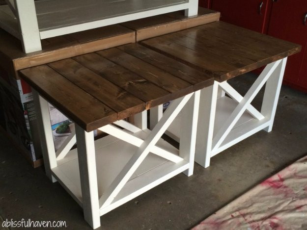 Best ideas about End Table Plans DIY . Save or Pin 31 DIY End Tables Now.