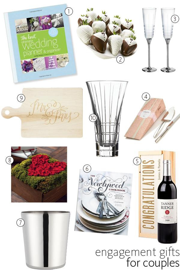 Engagement Gift Ideas For Couples  56 Engagement Gift Ideas