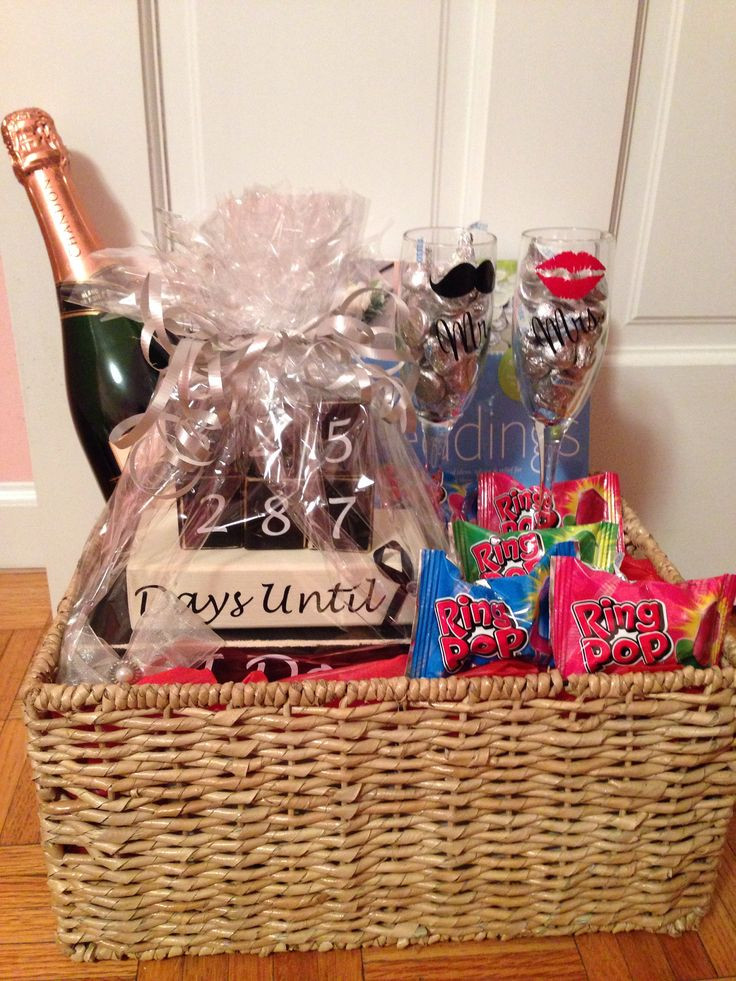 Engagement Gift Ideas For Couples  Best 25 Engagement t baskets ideas on Pinterest