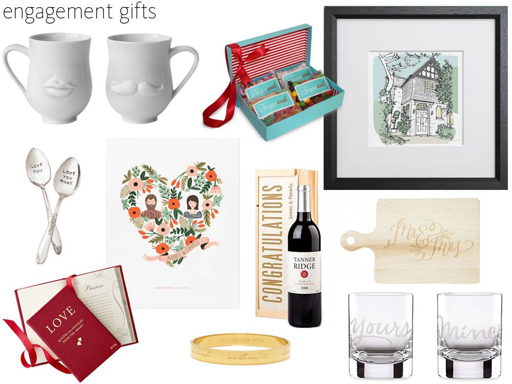 Engagement Gift Ideas For Couples  57 Engagement Gift Ideas