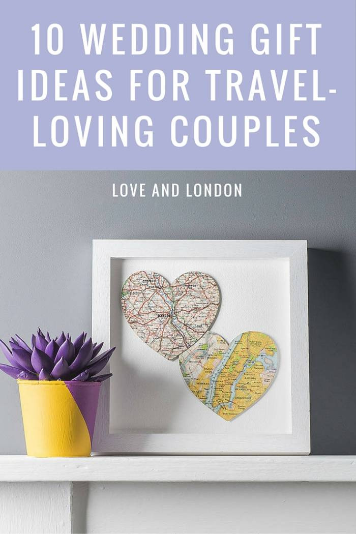 Engagement Gift Ideas For Couples  10 Wedding Gift Ideas for Your Favourite Travel Loving