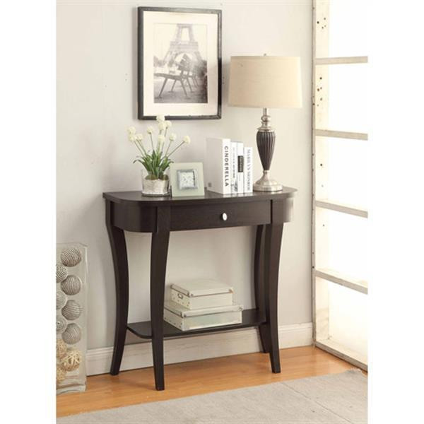 Best ideas about Entryway Console Table . Save or Pin Entryway Console Table Wood Accent Furniture Hallway Entry Now.