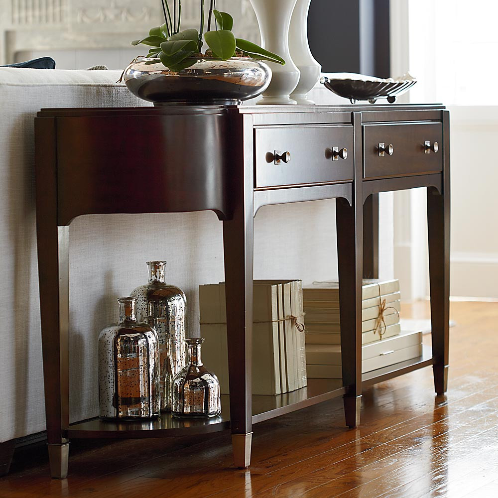 Best ideas about Entryway Console Table . Save or Pin Console Table Entryway Contemporary — Home Design Best Now.