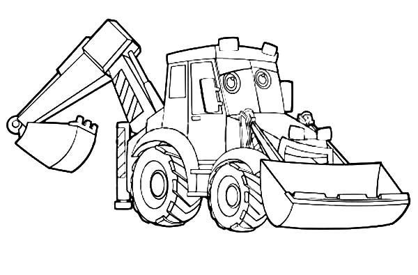 Excavator Coloring Pages  Excavator Coloring Pages Excavator Coloring Pages – Color