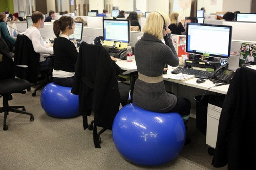 Best ideas about Exercise Ball Office Chair . Save or Pin Create a Physically Healthy Workforce through Design Now.
