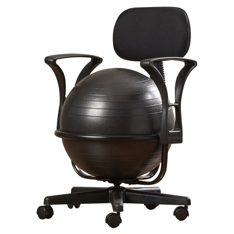 Best ideas about Exercise Ball Office Chair . Save or Pin Symple Stuff Exercise Ball Chair & Reviews Now.