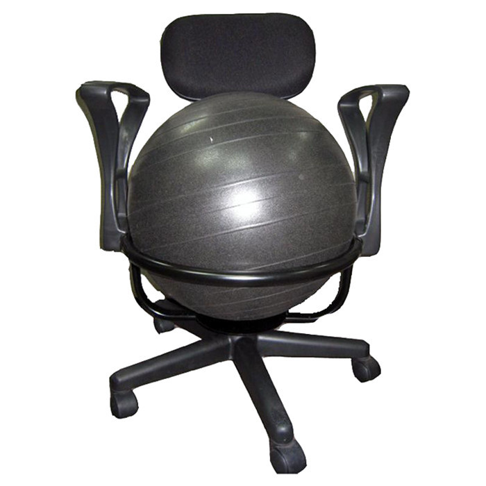 Best ideas about Exercise Ball Office Chair . Save or Pin AeroMAT High Back Exercise Ball Chair & Reviews Now.