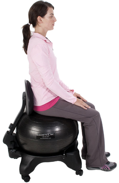 Best ideas about Exercise Ball Office Chair . Save or Pin fice Exercises Peak Physique Now.