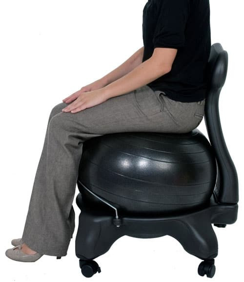 Best ideas about Exercise Ball Office Chair . Save or Pin 9 Best Balance Ball Chairs For Sitting Behind A Desk – Vurni Now.