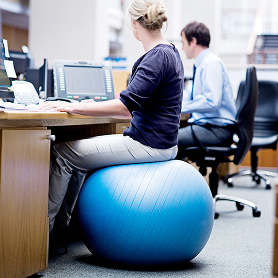 Best ideas about Exercise Ball Office Chair . Save or Pin Does an Exercise Ball Chair Actually Give You Any Health Now.
