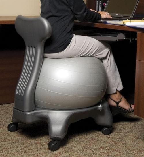 Best ideas about Exercise Ball Office Chair . Save or Pin exercise ball chair with arms Now.
