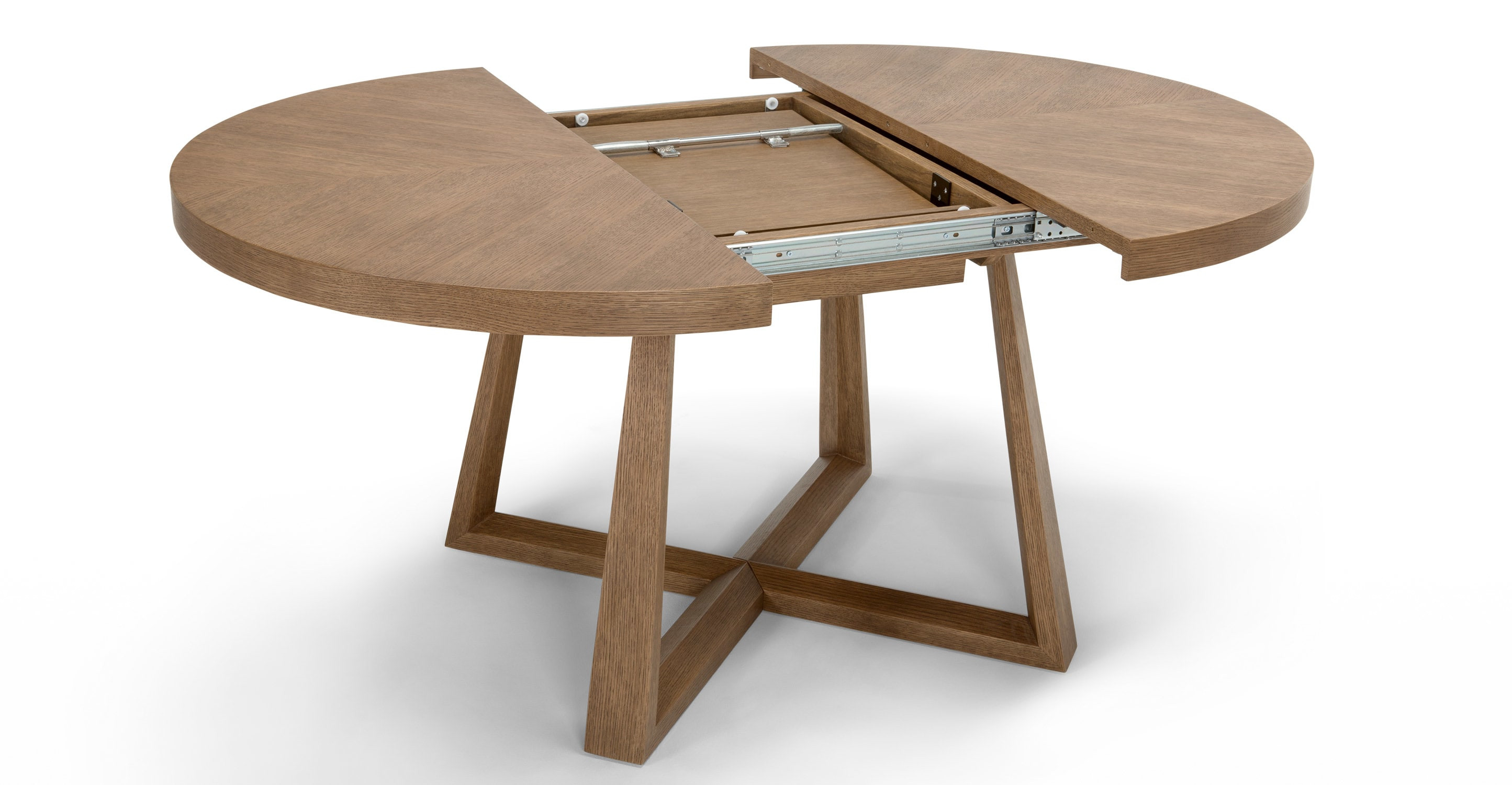 Best ideas about Extension Dining Table . Save or Pin Belgrave Extending Dining Table Dark Stained Oak Now.