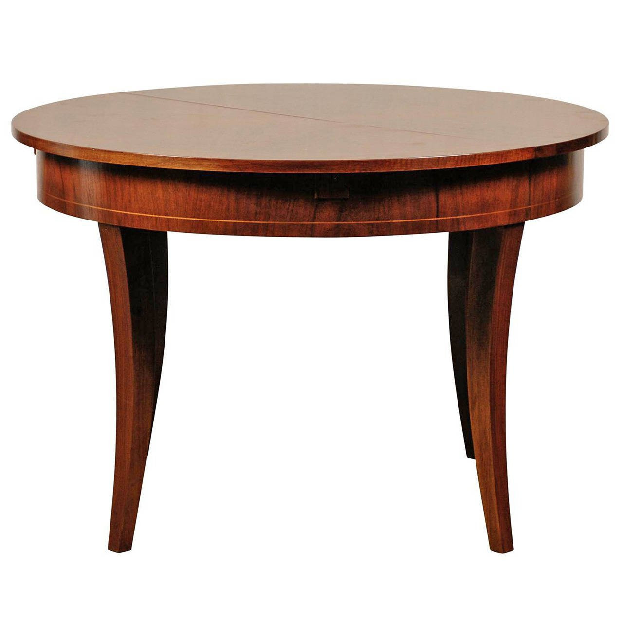 Best ideas about Extension Dining Table . Save or Pin 20th Century Austrian Style Round Walnut Extension Dining Now.