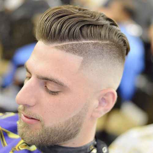 Faded Undercut Hairstyle  80 Popular Men s Haircuts Hairstyles