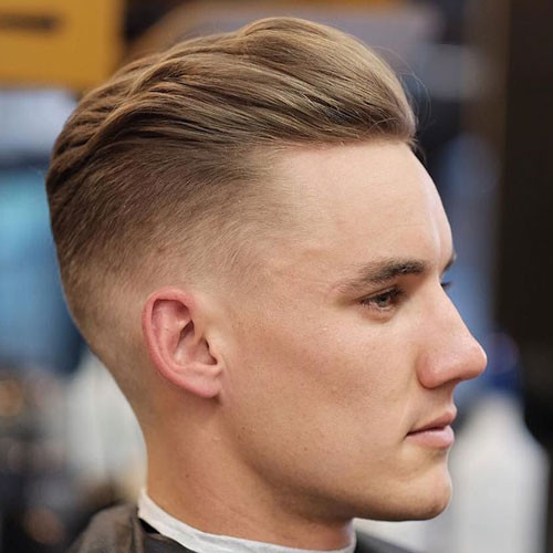 Faded Undercut Hairstyle  Short Hairstyles For Men