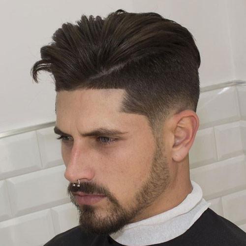 Faded Undercut Hairstyle  Undercut Fade