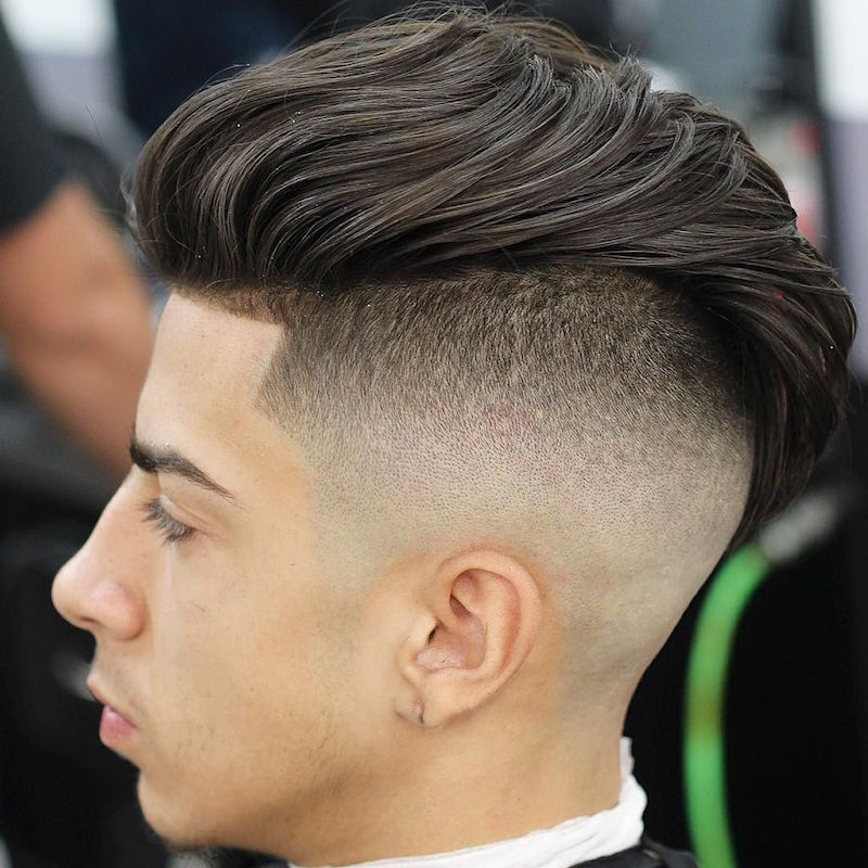 Faded Undercut Hairstyle  Fade Haircut 12 High Fade Haircuts for Smart Men