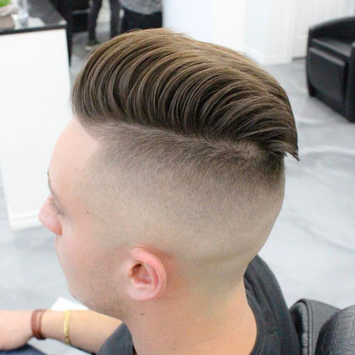 Faded Undercut Hairstyle  35 Men s Fade Haircuts 2019