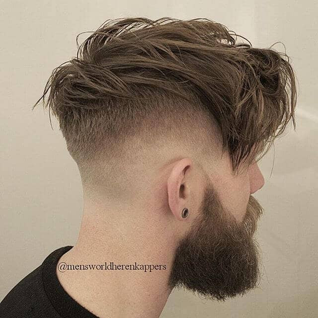 Faded Undercut Hairstyle  50 Trendy Undercut Hair Ideas for Men to Try Out