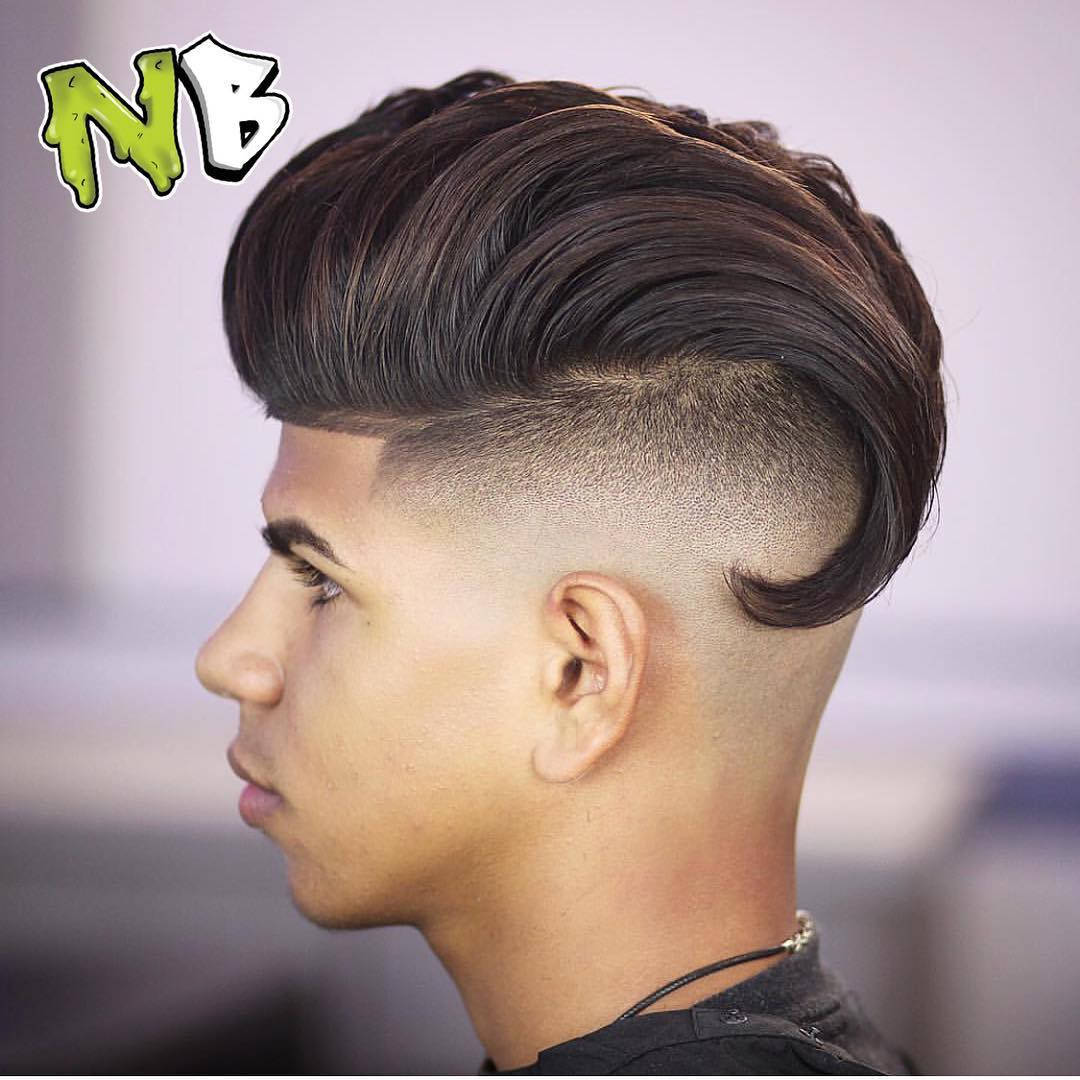 Faded Undercut Hairstyle  Undercut Fade Haircuts Hairstyles For Men 2018