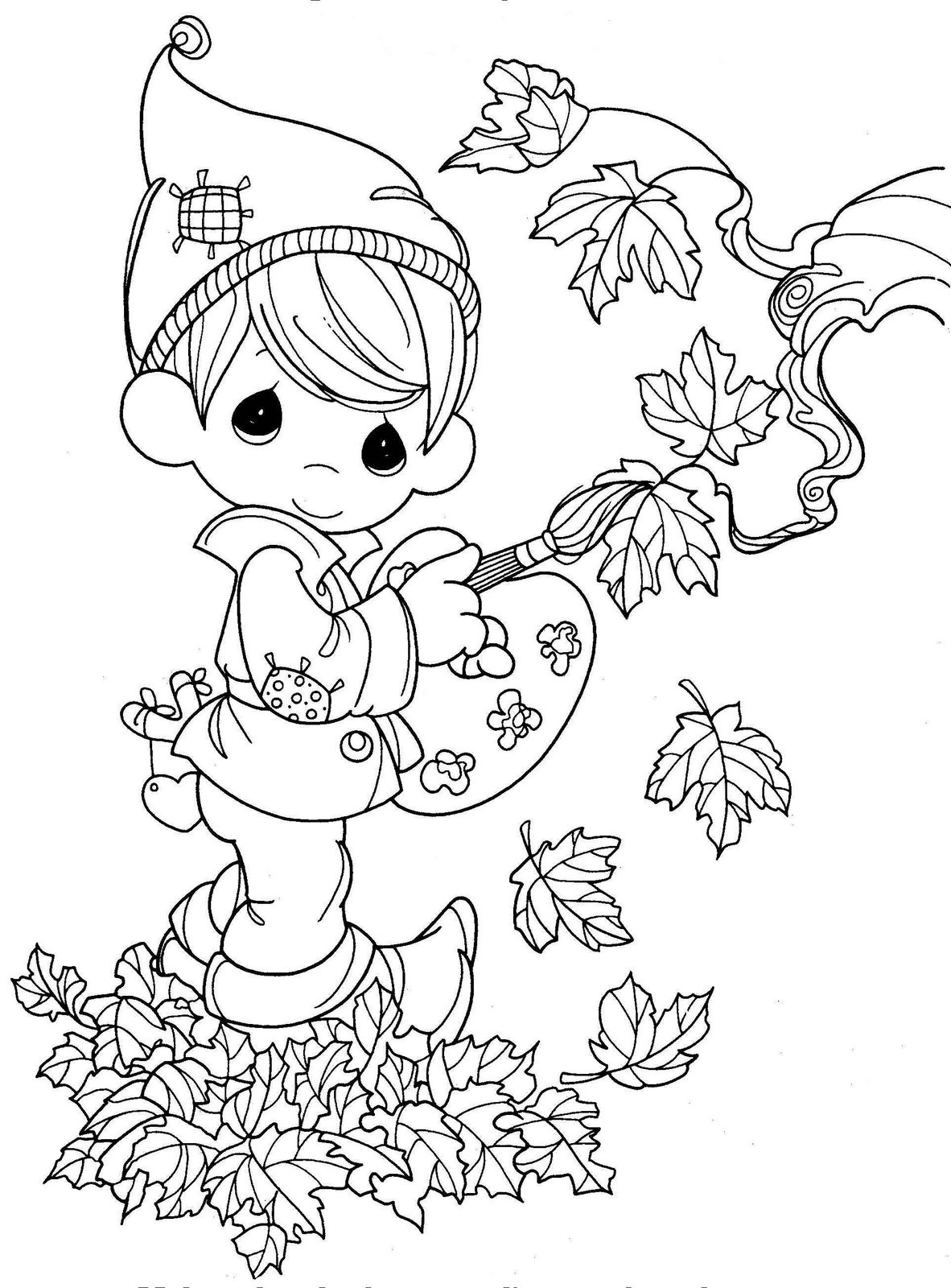Fall Coloring Pages  Autumn Season