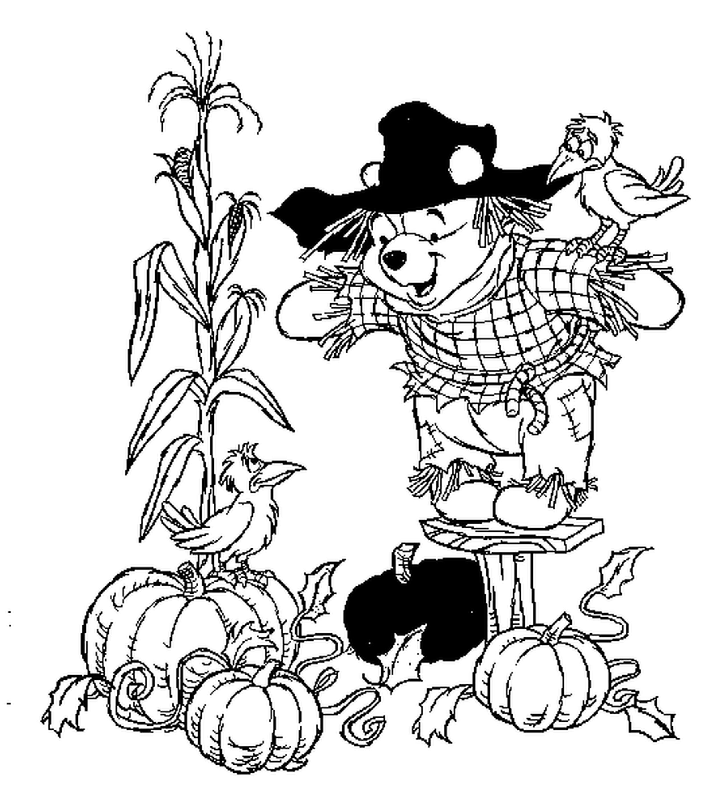 Fall Coloring Pages  Disney Printables Coloring Pages Bestofcoloring