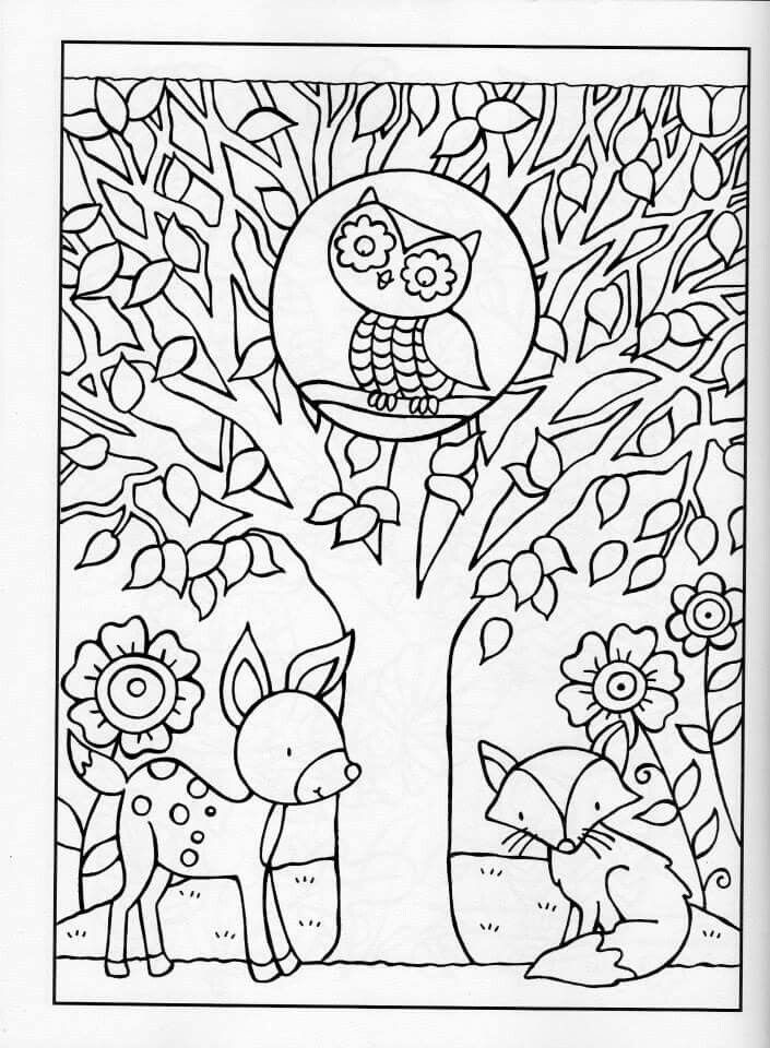 Fall Coloring Pages  Get This Fall Coloring Pages for Grown Ups Free Printable