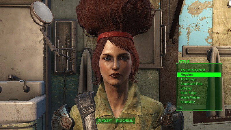 Fallout 4 Female Hairstyles  Fallout 4 Where to find La Coiffe Magazines Location Guide