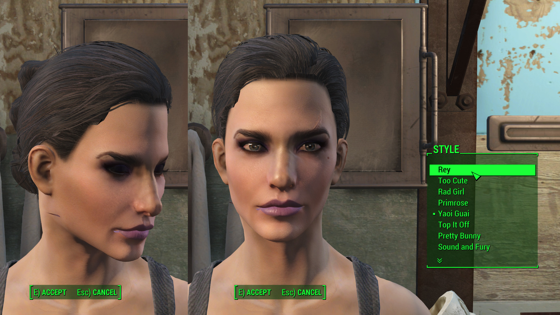 Fallout 4 Female Hairstyles  Kat s New Hairstyles Fallout 4 Mod Cheat