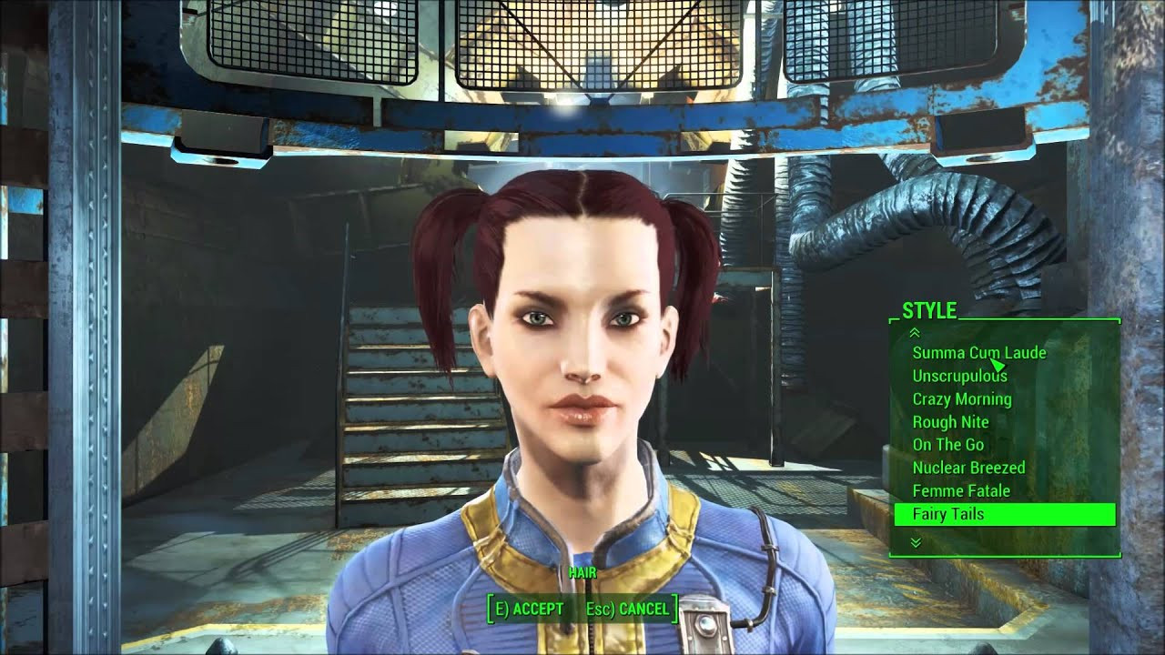 Fallout 4 Female Hairstyles List  Hairstyles Magazine Fallout 4