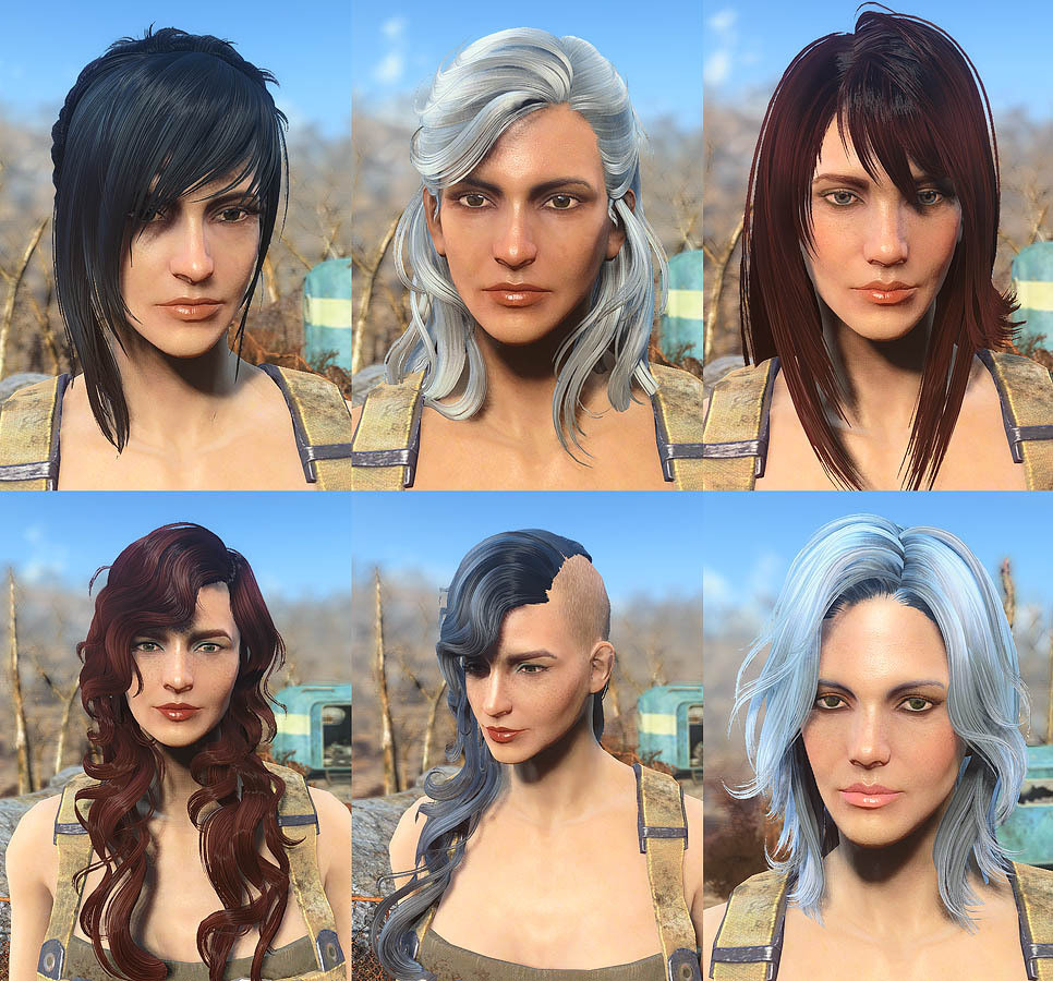 Fallout 4 Female Hairstyles List  Fallout 4 Hairstyles Names