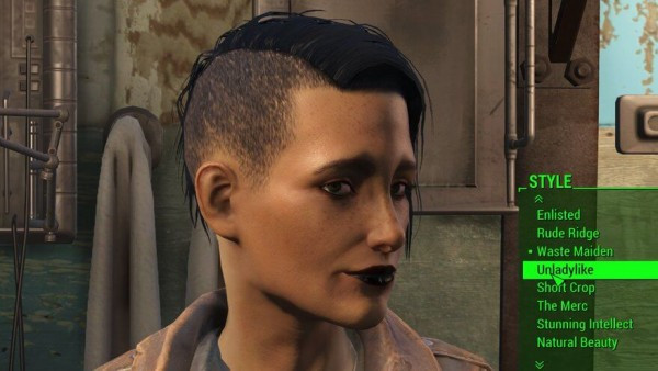 Fallout 4 Female Hairstyles  Fallout 4 Heres How You Find All the Hairstyles Tattoos