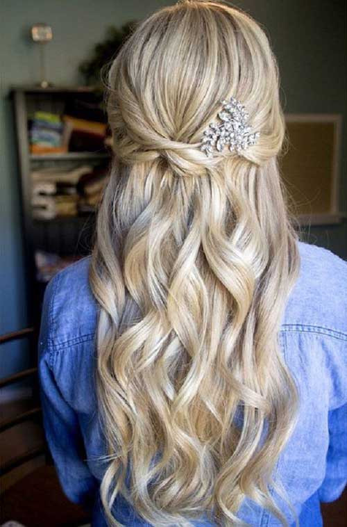 Best ideas about Fancy Hairstyles For Long Hair . Save or Pin Pretty Nice Prom Hairstyles for Long Hair Now.